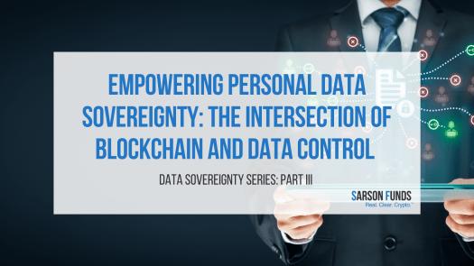 Blockchain empowers Data Sovereignty