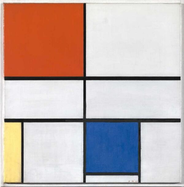 Composition .iii With Red Yellow And Blue Piet Mondrian Sartle - Rogue Art History