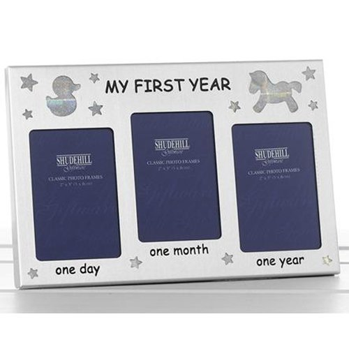 My first year photo frame 19 x 13.7 x 2.5 cm