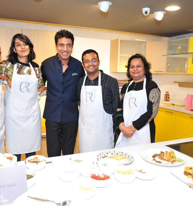 With Chef Ranveer Brar at the launch of Godrej Cuisine Regale