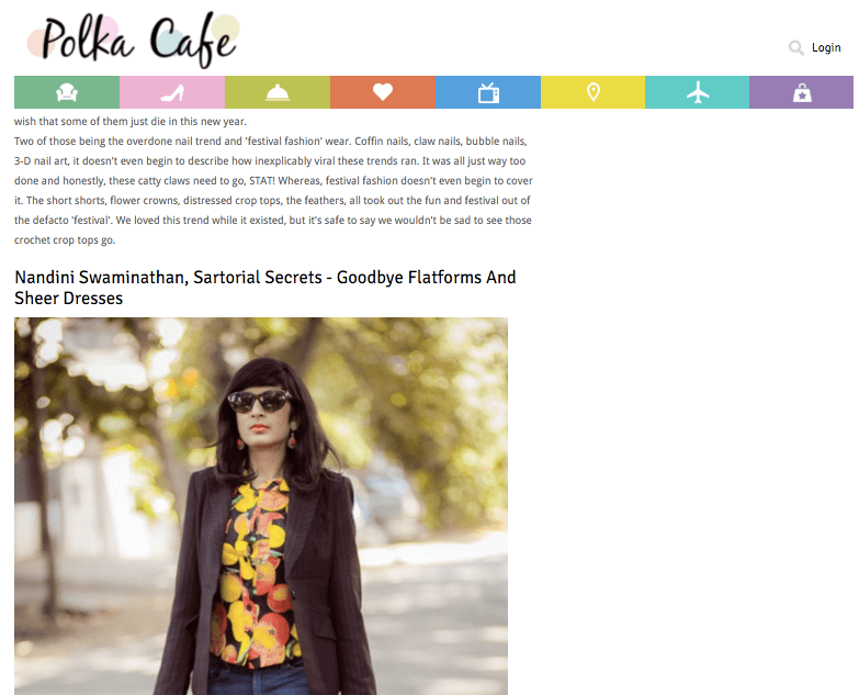 Polka Cafe: Leading Fashion Bloggers Tell Us About Style Trends They Hope Never Come Back