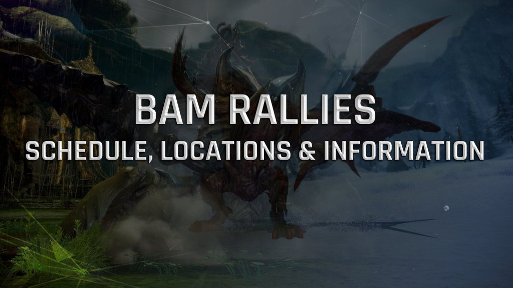 TERA Console: Rally Schedule, Locations and Information