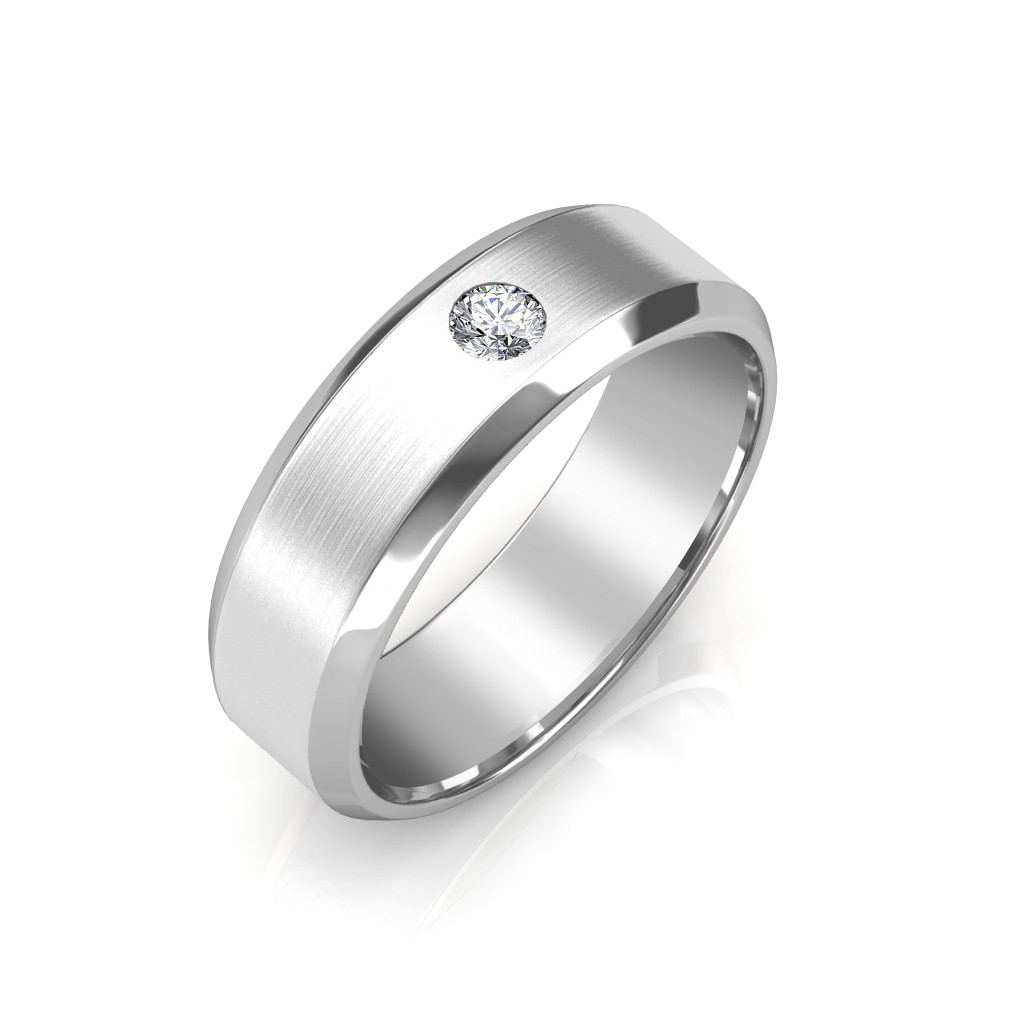 The James Platinum Ring For Him  Diamond Jewellery at Best Prices in India  SarvadaJewelscom