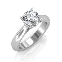 0.30 carat Platinum - Classic Engagement Ring at Best ...