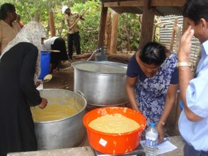 Preparation of Nutritious Food for Children