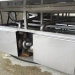 Laveuse de palox, construction en acier inoxydable - 2 pompes de lavage