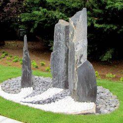 monolithes ardoise