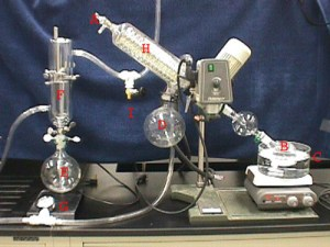 Diaphragm Pumps used with Rotary Evaporators : Department