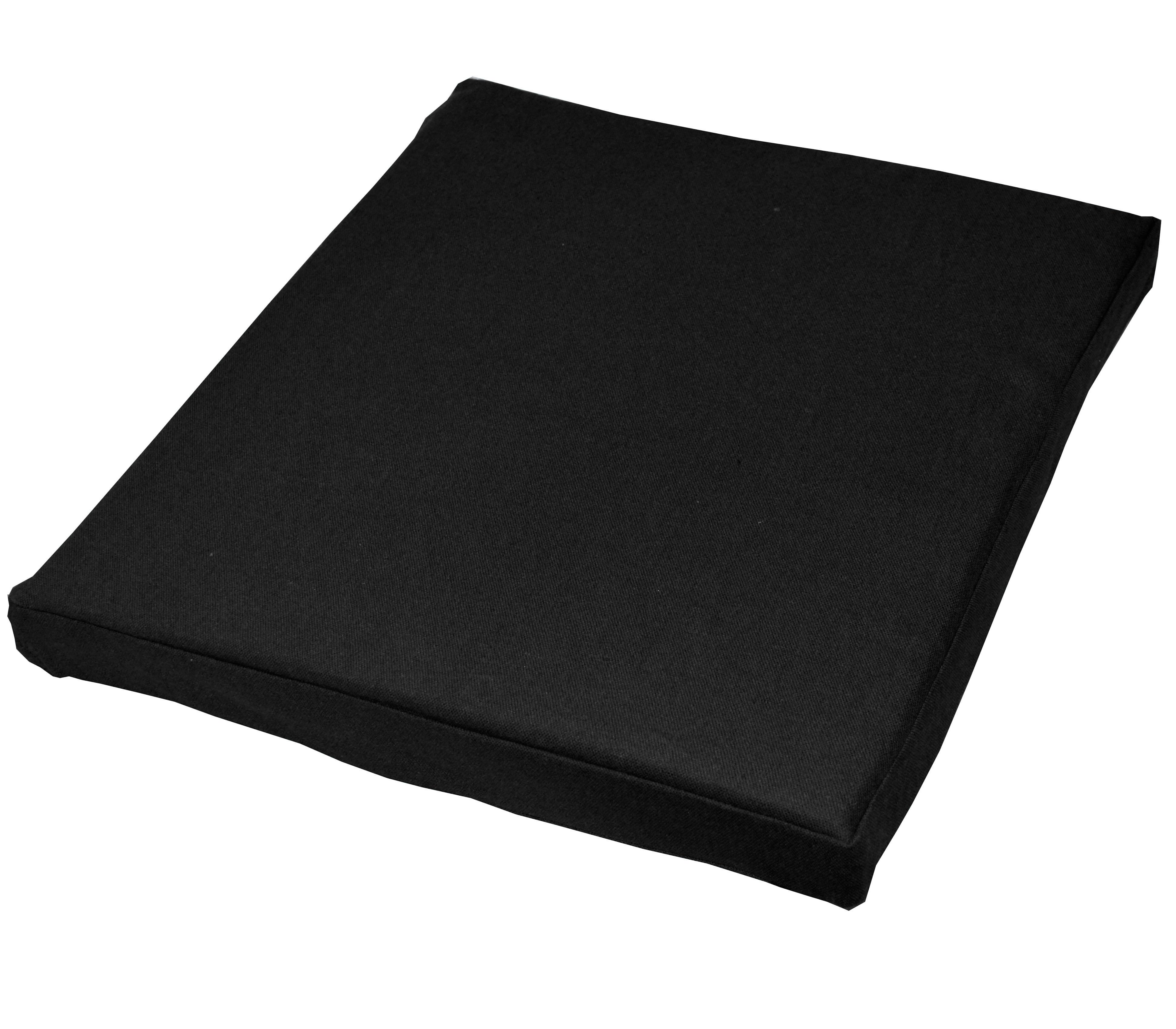 black cotton chair covers accessories in chennai aa152t plain thick canvas 3d box sofa seat