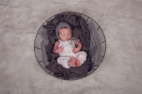 Neugeborenenfotos Paulinus 3 Wochen  Sascha Drmer Film