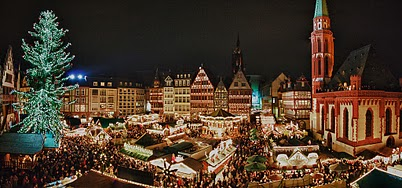Weihnachtsmarkt am Römerberg Frankfurt (HDR)
