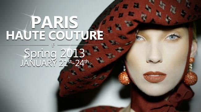 paris couture 2013