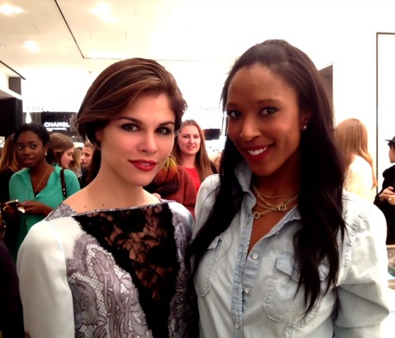 Emily Weiss of Into The Gloss and Sasha Exeter of So Sasha
