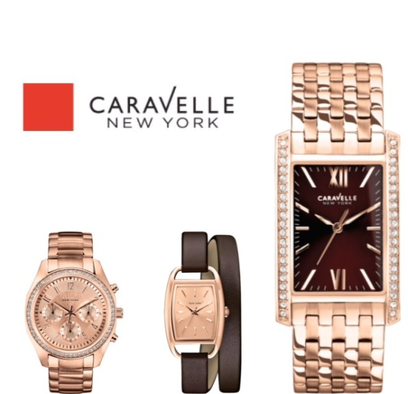 Caravelle New York Rose Gold Watches