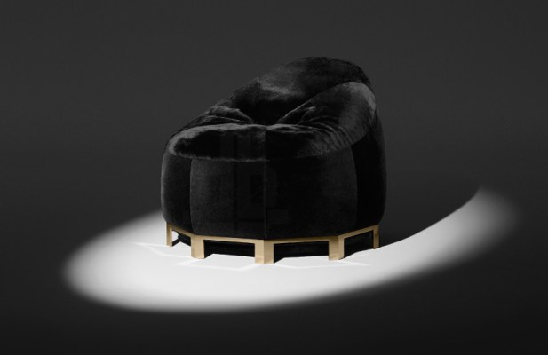 Alexander Wang Shearling Bean Bag Chair