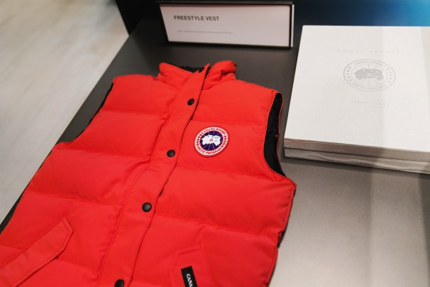 Canada Goose Flagship Opening