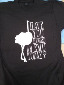 hugged-emu-today-tee-shirt