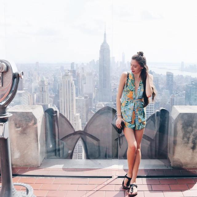 of the rock newyork nyc topoftherock skyline ootd