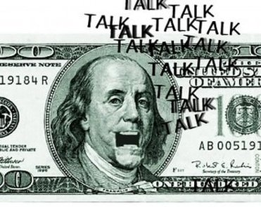 Image result for images of money talking