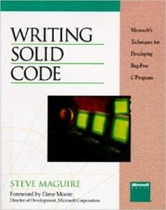 Writing-Solid-Code