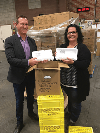 Over 35,000 eggs donated to Saskatoon and Regina Food Banks in 2016