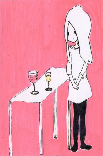 vino tinto y fino