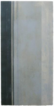 mareas vivas · solsticio de invierno | 100 x 50 cm | técnicas aditivas - collagraph