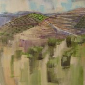 Vista do Lagar II | 100 x 100 cm