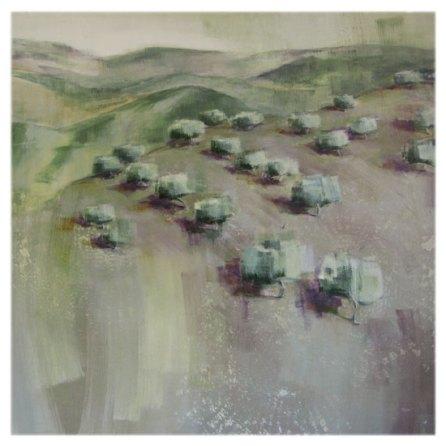 Olival na montanha | 150 x 150 cm