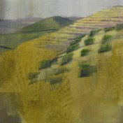 Uitzicht oliemolen | 55 x 55 cm
