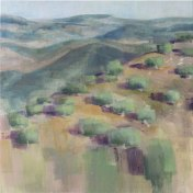Berg olijfbommgaar | 70 x 70 cm