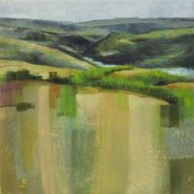 Douro rivier II | 70 x 70 cm
