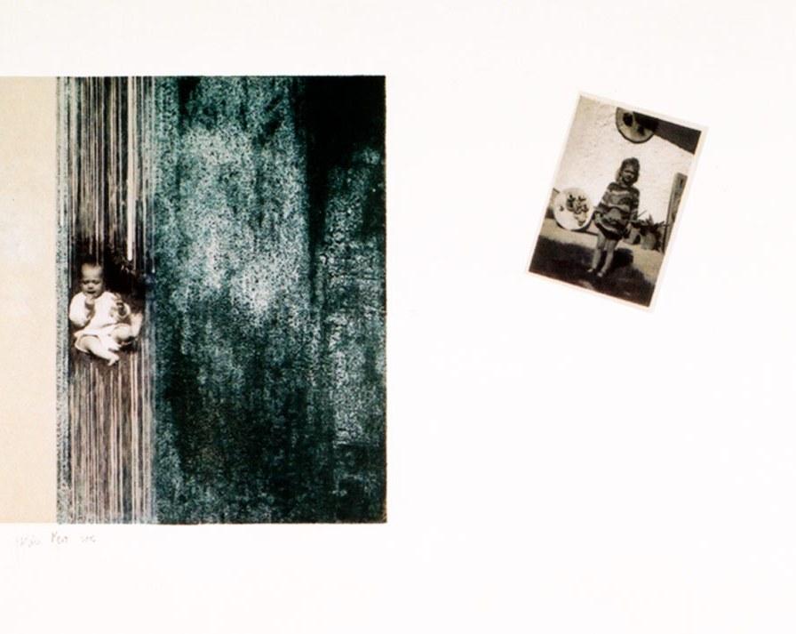 Alexandra de 0-4 años   grabado con impresión digital   40 x 56 cm   edición 3 ejemplares + 1 P.A.
