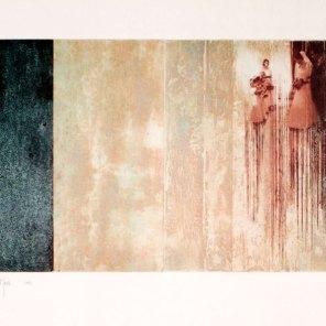 O casamento / La boda   grabado con impresión digital   40 x 56 cm   edición 3 ejemplares + 1 P.A.
