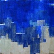 Azul #1   100 x 100 cm