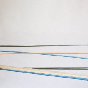 detalle   móvil turquesa-naranja   275 x 140 x 60 cm