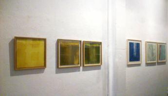 vista de la sala con grabados de la serie Castilla