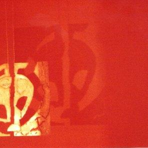 Eros   matriz presentada en la sala Eros   4 x 8 metros