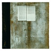 Á la recherche du ... | monotipo con collage | 56 x 56 cm