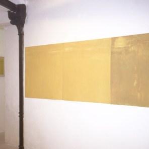 ancha y llana III |96 x 288 cm |en la galería Caligrama