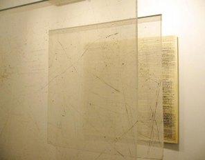 Instalación 'Lugar de tránsito' | Feria Estampa 2004 · Tentaciones | 180 x 180 x 180 cm