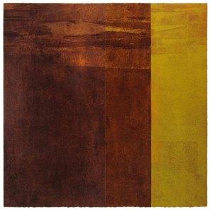 Marrón-Amarillo | 100 x 100 cm