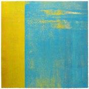 Turquesa-Amarillo | 100 x 100 cm