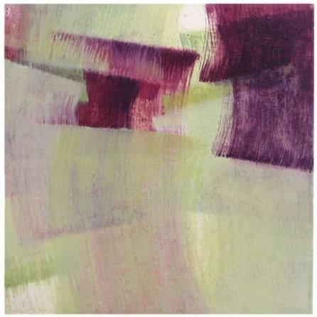 verde-violeta | 38 x 38 x 5 cm