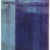 Violeta-Turquesa | 100 x 75 cm