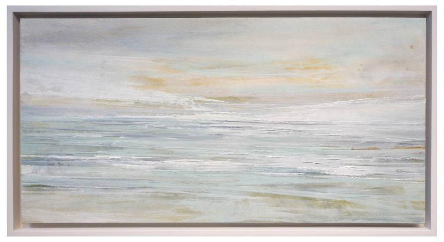 Memória I | 30 x 60 cm | óleo sobre lienzo encolado tabla · enmarcado 34 x 64 cm