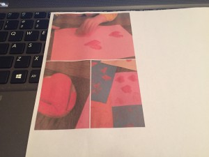 kleurenprinter eerste printje