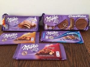 Huishoudbeurs shoplog Milka