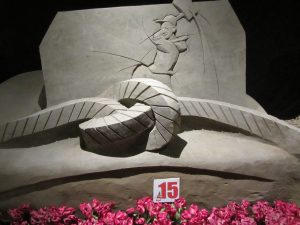 zandsculpturen spreekwoorden 2