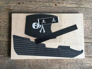 houten bouwpakket piratenschip
